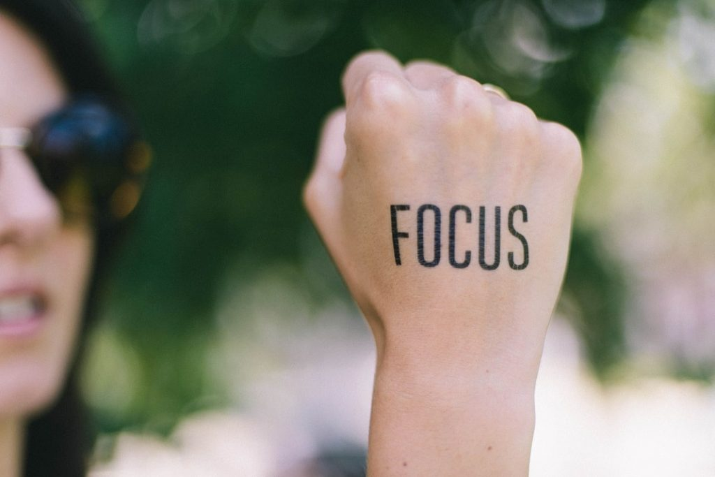 focus on online courses
